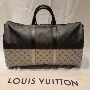Louis Vuitton Limited Edition Split 50 Keepall NEW